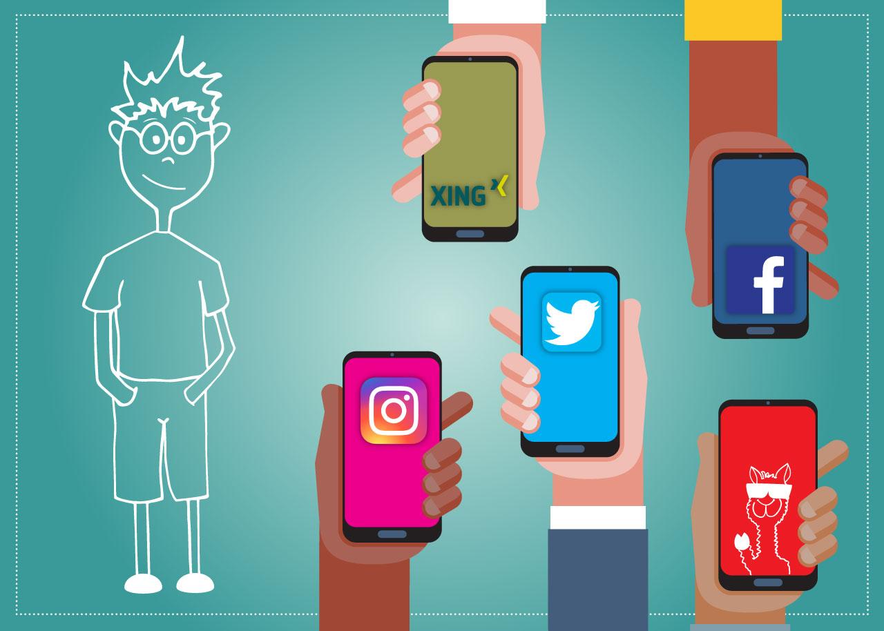Regeln für Azubis in Sozialen Medien